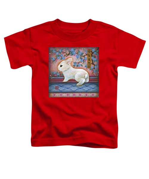 Carpe Diem Rabbit Toddler T-Shirt