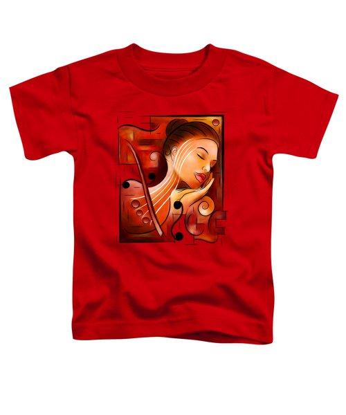 Casselopia - Violin Dream Toddler T-Shirt