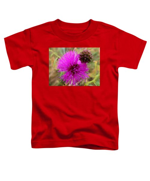 Catclaw Pink Mimosa  Toddler T-Shirt