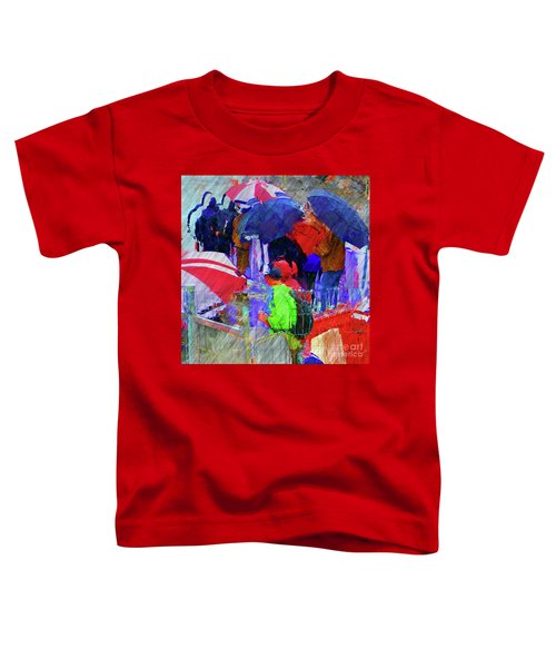 Caught In A Shower Toddler T-Shirt