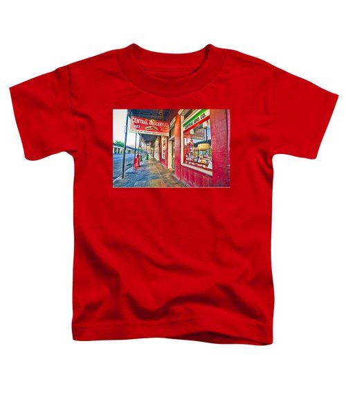 Central Grocery And Deli In The French Quarter Toddler T-Shirt