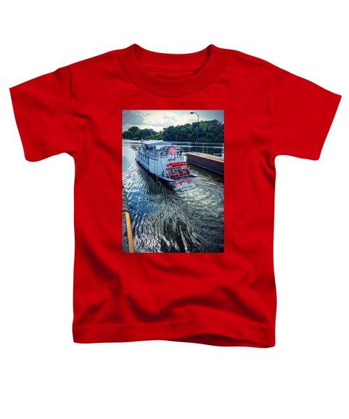 Champlain Canal Patriot Toddler T-Shirt