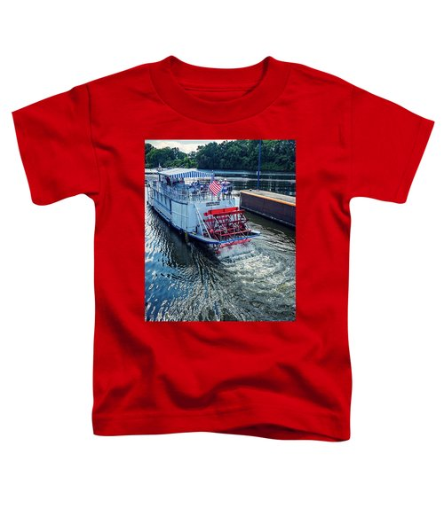Champlain Canal Patriot Toddler T-Shirt