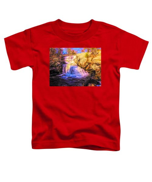 Chapman Falls Connecticut Toddler T-Shirt