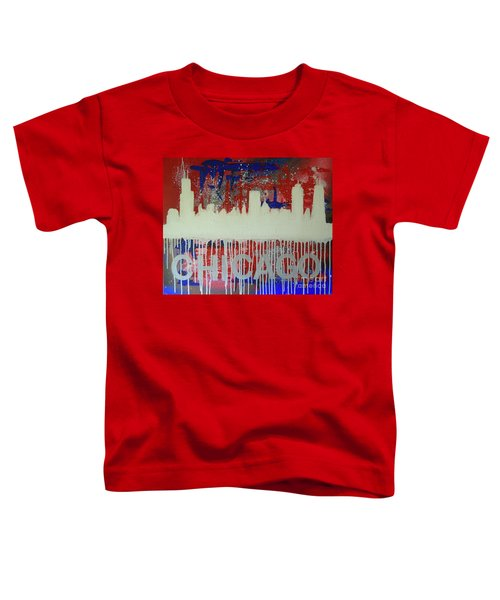 Chicago Drip Toddler T-Shirt