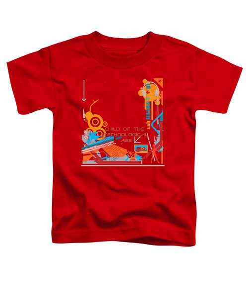 Child Of The Technological Age Toddler T-Shirt