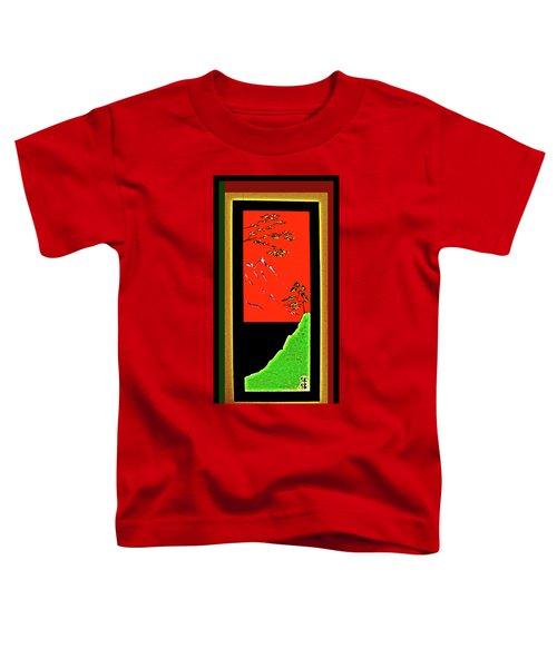 China Island Trees Toddler T-Shirt