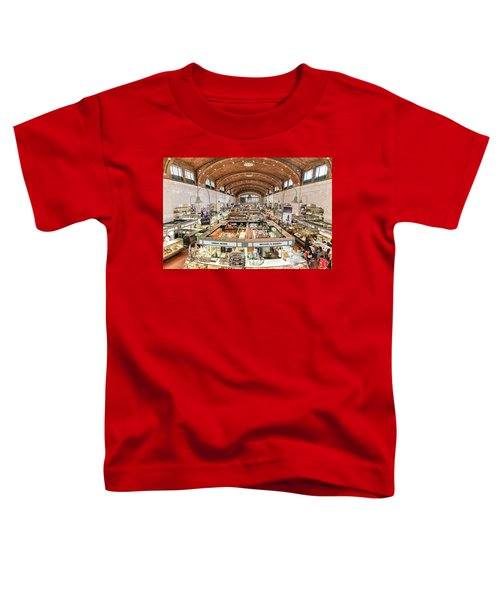 Cleveland Westside Market  Toddler T-Shirt
