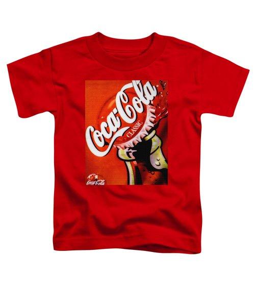 Coca Cola Classic Toddler T-Shirt