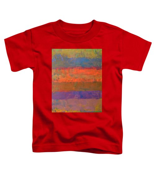 Color Collage Two Toddler T-Shirt by Michelle Calkins