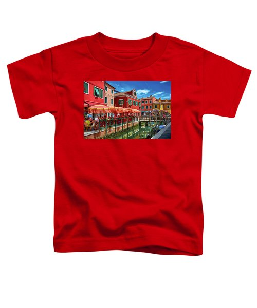 Colorful Day In Burano Toddler T-Shirt