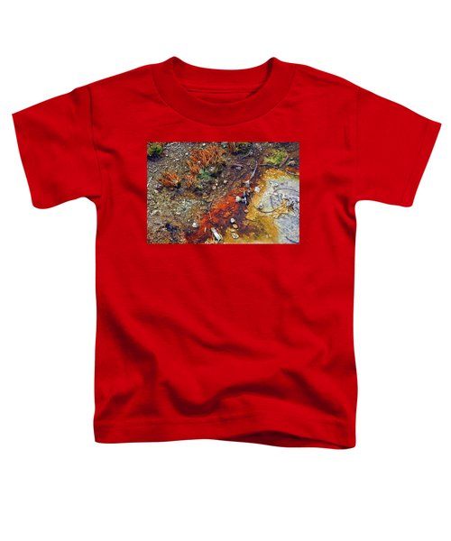 Colorful Hot Pool Toddler T-Shirt