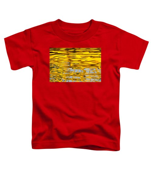 Colorful Reflection In The Water Toddler T-Shirt