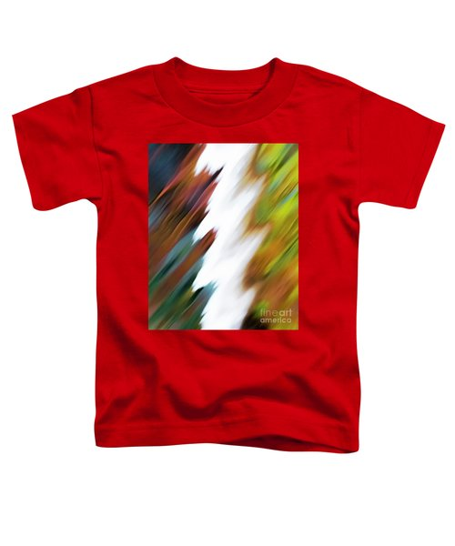 Colors Of Water Toddler T-Shirt