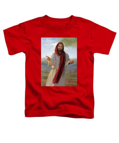 Come Unto Me Toddler T-Shirt