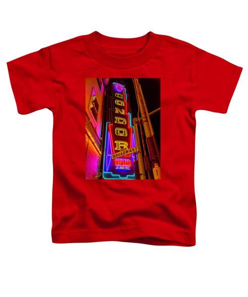 Condor Neon On Broadway Toddler T-Shirt