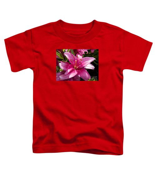 A Lily Speaks Of Love In The Language Of The Heart Toddler T-Shirt