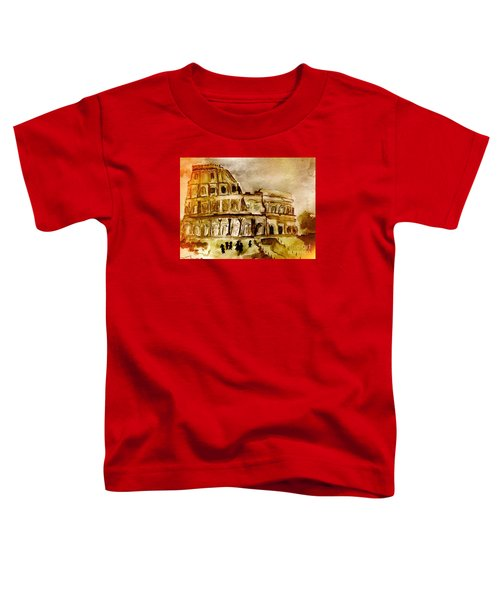 Crazy Colosseum Toddler T-Shirt