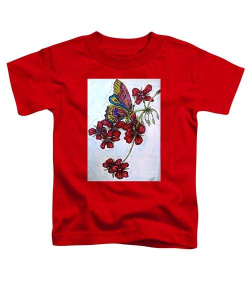 Crimson Fancy Toddler T-Shirt