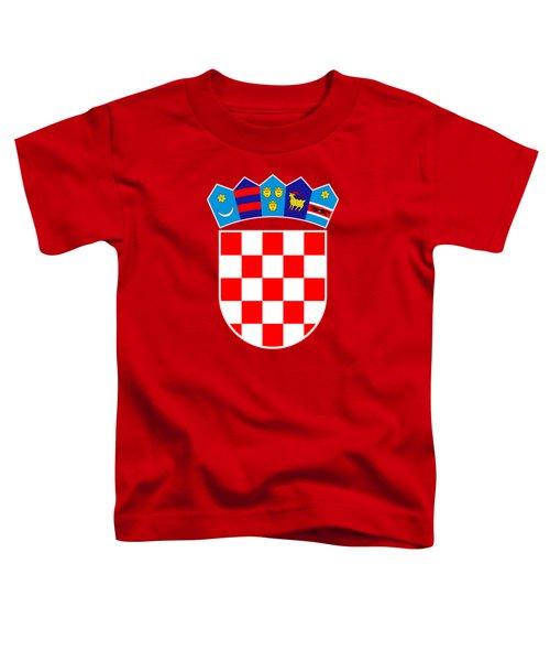 Croatia Coat Of Arms Toddler T-Shirt