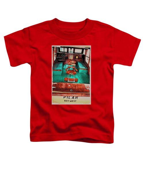 Cuba Hemingway Pilar Toddler T-Shirt