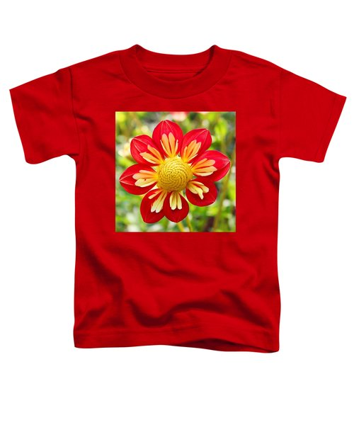 Dainty Dahlia Toddler T-Shirt