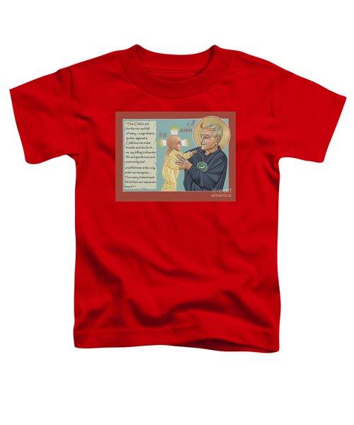 Holy Prophet Daniel Berrigan 291  Toddler T-Shirt
