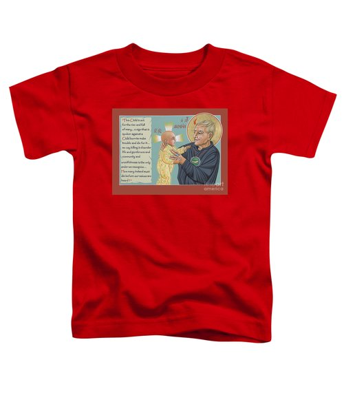 Holy Prophet Daniel Berrigan 291  Toddler T-Shirt
