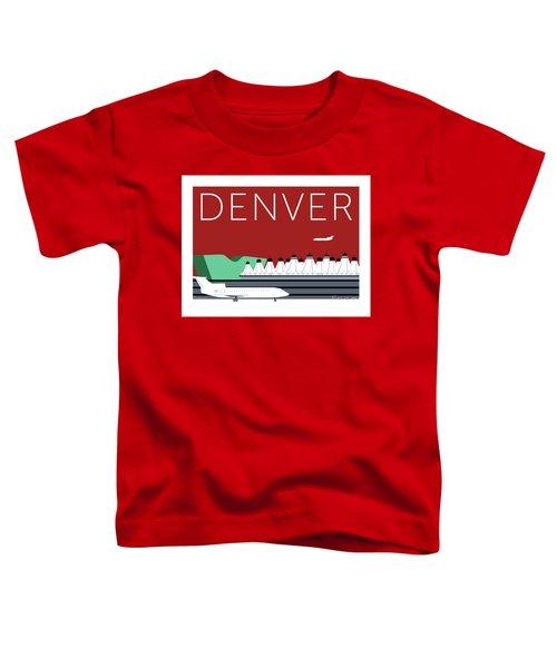 Denver Dia/maroon Toddler T-Shirt
