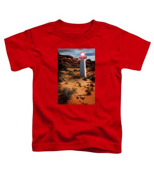 Desert Lighthouse Toddler T-Shirt