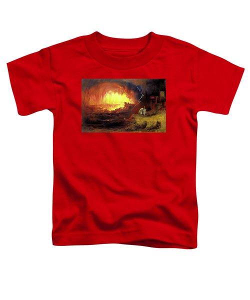 Destruction Of Sodom And Gomorah Toddler T-Shirt