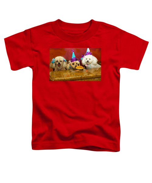 Dog Party Toddler T-Shirt