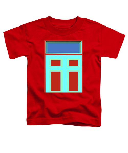 Door - Bold Colors Toddler T-Shirt