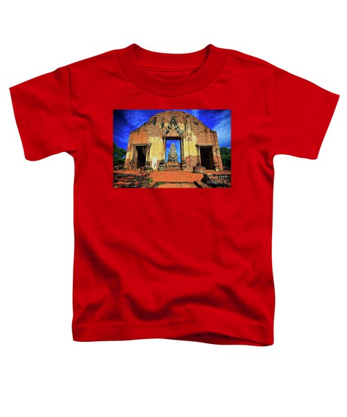 Doorway To Wat Ratburana In Ayutthaya, Thailand Toddler T-Shirt