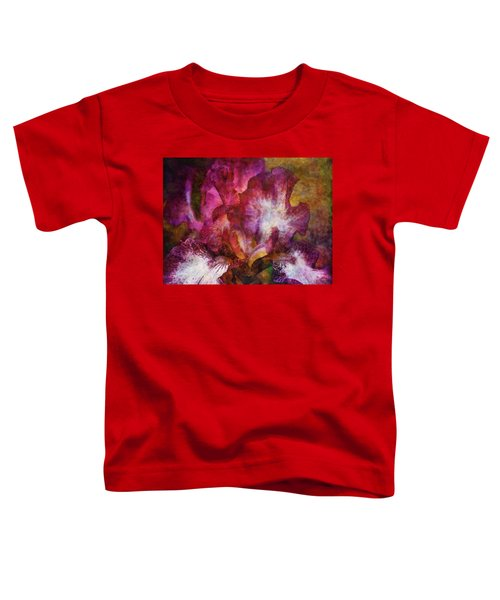 Dramatic White And Purple 0273 Idp_2 Toddler T-Shirt