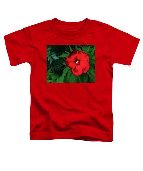 Dynamic Red Toddler T-Shirt
