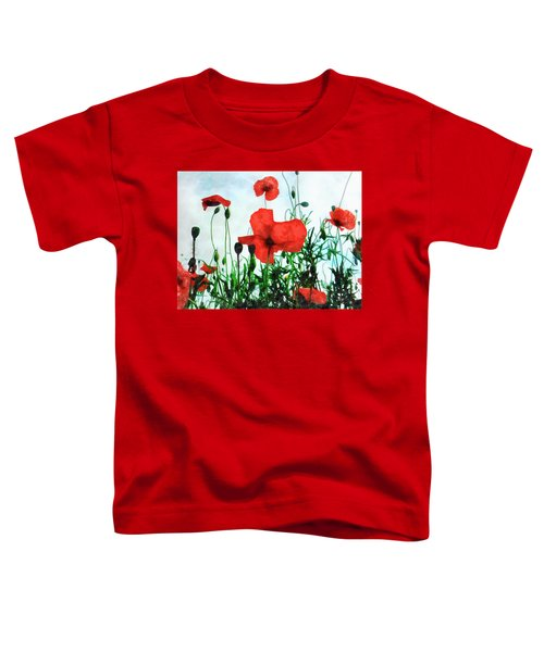 Early Morning Poppy Moment Toddler T-Shirt