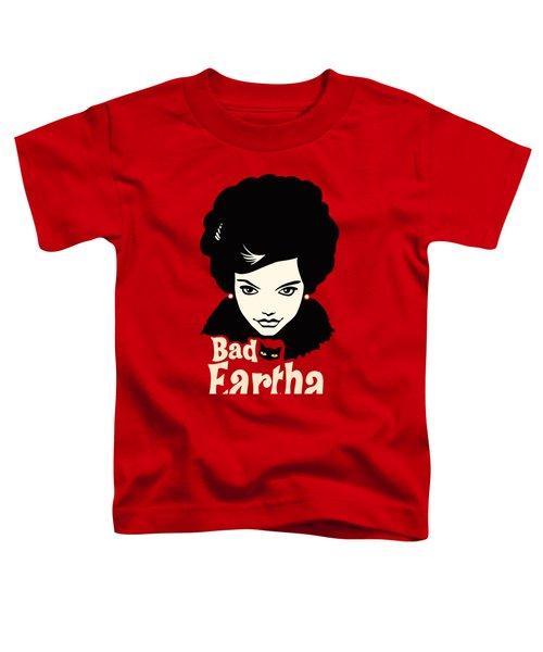 Eartha Kitt - That Bad Eartha Retro Poster Toddler T-Shirt