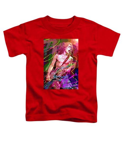 Eddie Van Halen Jump Toddler T-Shirt