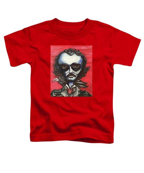 Edgar Alien Poe Toddler T-Shirt