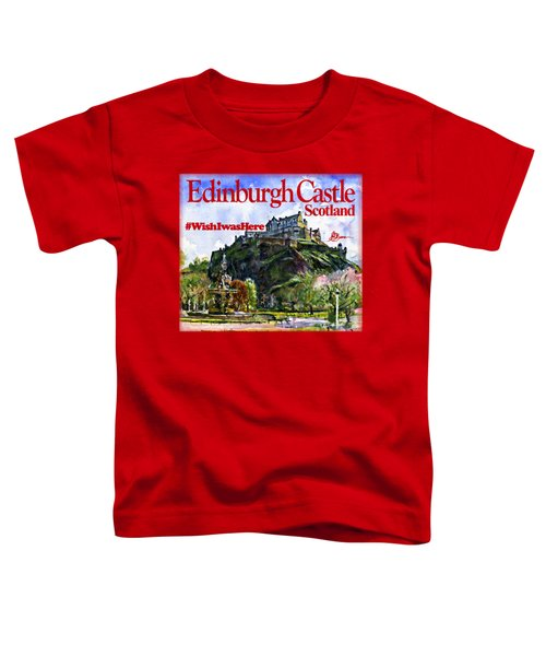 Edinburgh Castle Toddler T-Shirt