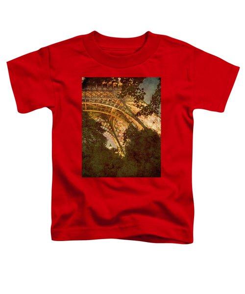 Paris, France - Eiffel Oldplate II Toddler T-Shirt