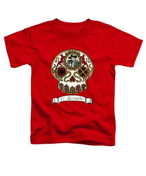 El Borracho - The Drunk Toddler T-Shirt