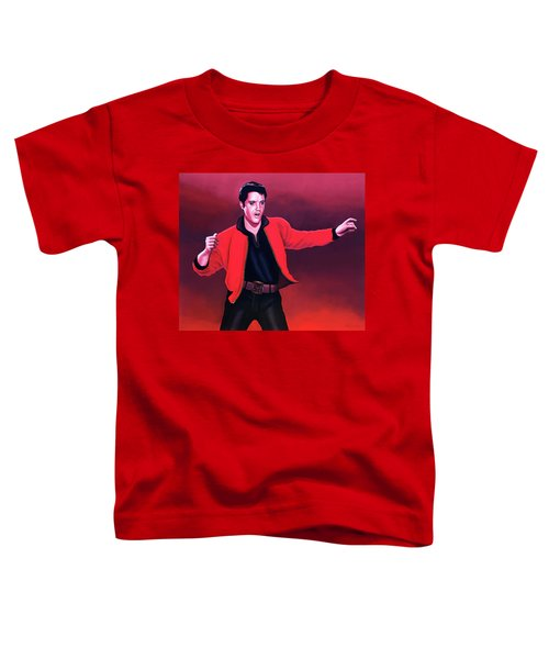 Elvis Presley 4 Painting Toddler T-Shirt