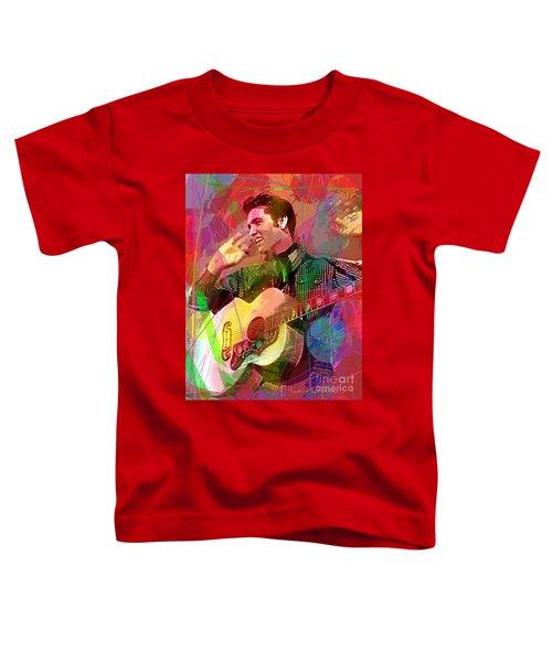 Elvis Rockabilly  Toddler T-Shirt