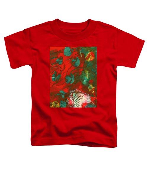 Emerald Butterfly Island Toddler T-Shirt