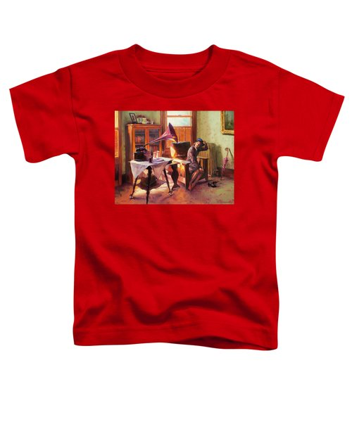 Ending The Day On A Good Note Toddler T-Shirt