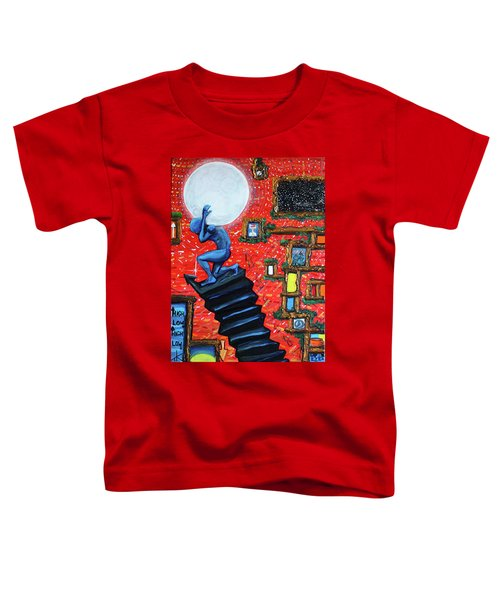 Energy Flow, The Active Space And The Effects Of The Rising Moon Toddler T-Shirt