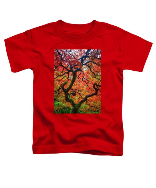 Ethereal Tree Alive Toddler T-Shirt
