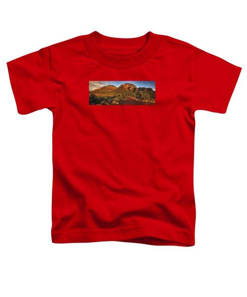 Evening At Dry Creek Vista Txt Toddler T-Shirt